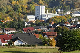 View of the northern part of Hundelshausen