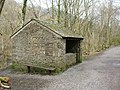Hut by Keswick Cycleway - geograph.org.uk - 1226219.jpg