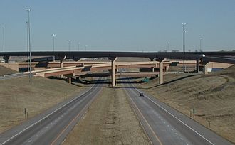 Transportation in Colorado - The junction of Interstate 25 and E-470