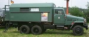 IFA G5 - G5 truckbus of the Volkspolizei.