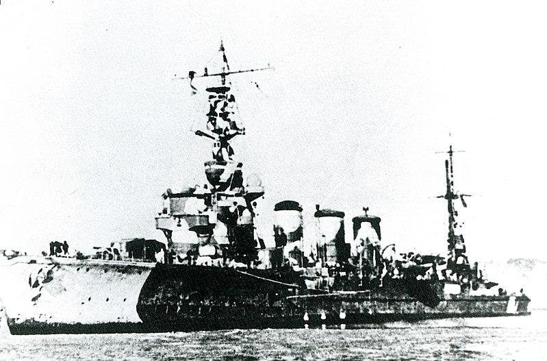 La bataille navale des îles Komandorski 800px-IJN_Tama_in_1942