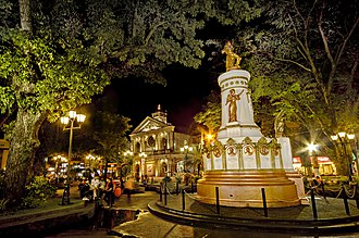 """Fifteen Martyrs of Bicol - A monument dedicated to """"Ang Quince Martires ng Bicol"""