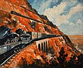 INF3-20 Mountain railway transporting tanks Artist Roland Davies 18939-1946.jpg