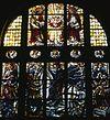 interieur, overzicht glas in loodraam - rotterdam - 20264936 - rce