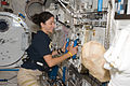ISS-20 STS-128 Nicole Stott installs hardware in the Kibo lab.jpg