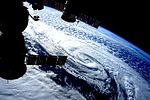 ISS-46 January 2016 United States blizzard seen from ISS.jpg