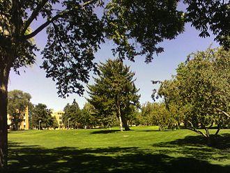 Idaho State University - ISU Quadrangle in 2007