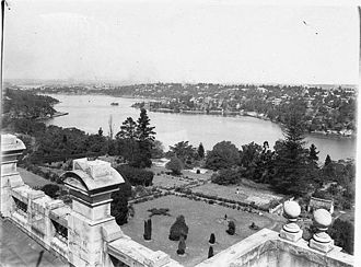 Saint Ignatius' College, Riverview - St Ignatius' campus viewed from main building, 1930s
