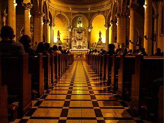 Miraflores District, Lima - Iglesia Virgen Milagrosa Miraflores Lima PE