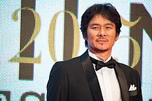 "Ihara Tsuyoshi ""Last Kights"" at Opening Ceremony of the 28th Tokyo International Film Festival (21805557954).jpg"