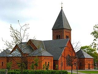 Ikast Place in Mid Jutland, Denmark