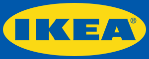 Logo of Ikea. Drawn by Mysid on a PNG original...