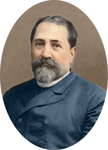 Saint Ilia Chavchavadze Ilia Chavchavadze by Alexander Roinashvili (digitally colorized).png