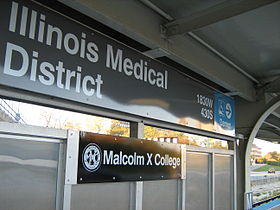 Image illustrative de l'article Illinois Medical District (CTA)