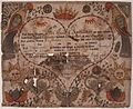 Illustrated family record (Fraktur) found in Revolutionary War Pension and Bounty-Land-Warrant Application File... - NARA - 300236.jpg