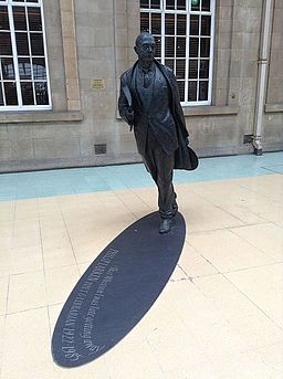 Image Philip Larkin, Poet & Librarian, Hull University