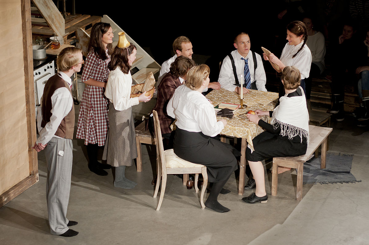 El diario de Ana Frank (obra de teatro) - Wikipedia, la