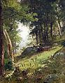In the Birch Woods, Damariscotta, Maine by William Keith.jpg
