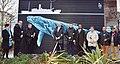 Inauguration de la fresque d'A-Mo à l'occasion de l'hommage rendu au naufrage du paquebot l'Afrique organisé par l'association Mémoires et Partages, Bordeaux, 09.01.2020.jpg