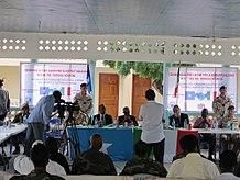 Inaugurazione Ospedale Militare Xooga Mogadiscio