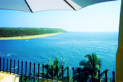 Goa is famed for its sunny beaches.