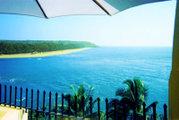 A view of India's west coast at Goa, near the border with Maharashtra.