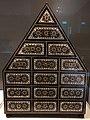 India Gujarat or Sindh 16th C - cabinet of wood ivory metal IMG 9504 Museum of Asian Civilisation.jpg
