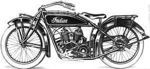 Indian Scout (motorcycle) - Indian Scout. Model G-20