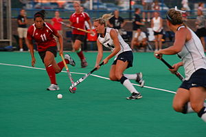 Penn State Nittany Lions field hockey - The 2010 Penn State field hockey team in action against Indiana