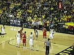 File:Indiana vs. Michigan men's basketball 2014 05 (in-game action).jpg