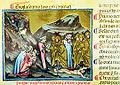 Inf. 23 Scuola toscana, Dante e Virgilio incontrano gli ipocriti che camminano sul corpo di Caifa, fine sec. XIV.jpg