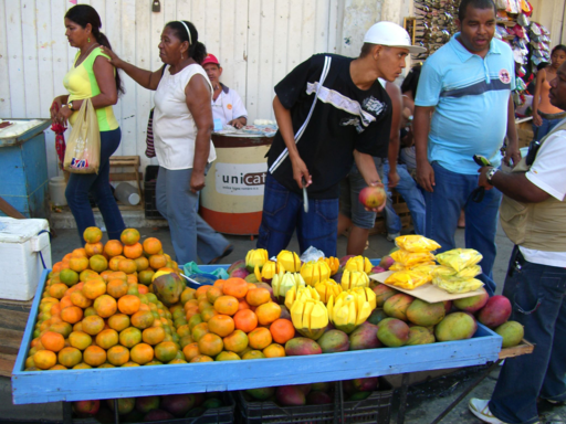 Informal Economy Cartagena Colombia by Joachim Pietsch