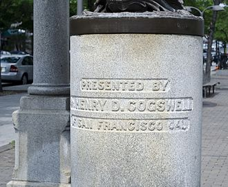 Temperance Fountain (Washington, D.C.) - Image: Inscription on Temperance Fountain Washington DC 2013 06 09 (9009864733)