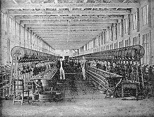 Tomioka Silk Mill - Image: Inside Tomioka Silk Mill