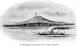 Snake Island (Black Sea) - Image: Insula Serpilor in 1896
