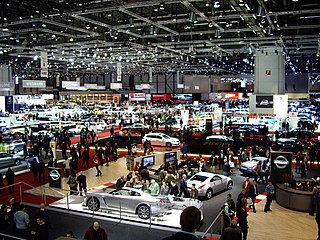 Annual Swiss auto show