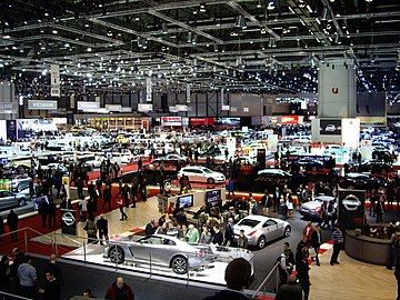 The Geneva Motor Show in 2008