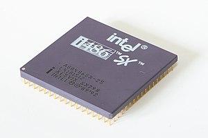 Intel 80486SX - Intel i486 SX 25MHz
