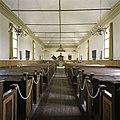 Interieur, overzicht richting het oosten met kerkbanken - Wagenborgen - 20387753 - RCE.jpg