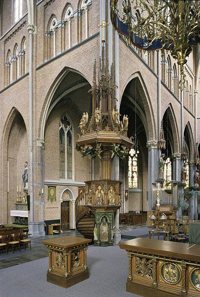 File interieur overzicht van preekstoel veghel for Interieur 404