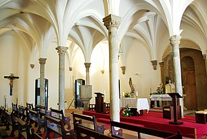 History of Portugal - Mértola's mosque was transformed into a church in 1238.