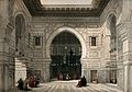 Interior of the mosque of Sultan El Ghoree, Egypt. Coloured Wellcome V0049376.jpg