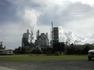 International Paper - Pulp and converting paper mill, located in Georgetown, South Carolina.