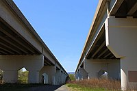 Interstate 80 bridges over the West Branch Susquehanna River.jpg