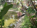 Inviting Goddess Ganga - Hindu Sacred Thread Ceremony - Simurali 2009-04-05 4050064.JPG