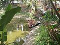 Inviting Goddess Ganga - Hindu Sacred Thread Ceremony - Simurali 2009-04-05 4050064.JPG
