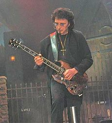 Tony Iommi na koncerte skupiny Heaven and Hell, 2007