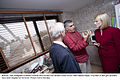 Irish Delegates Professor Damian McCormack and Senator Averil Power meet Nabeel Rajab. A number of tear gas canisters have been targeted at his home.jpg