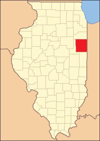 Iroquois County, Illinois - Image: Iroquois County Illinois 1853