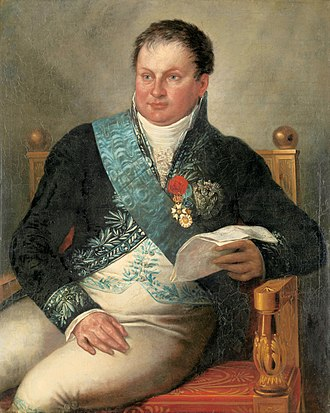 Alexander Gogel - Portrait of Isaac Jan Gogel by Mattheus Ignatius van Bree, c. 1811